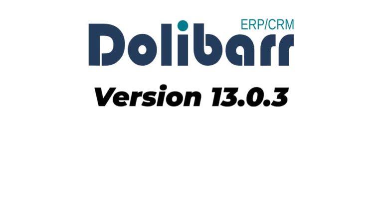 Version 13.0.3